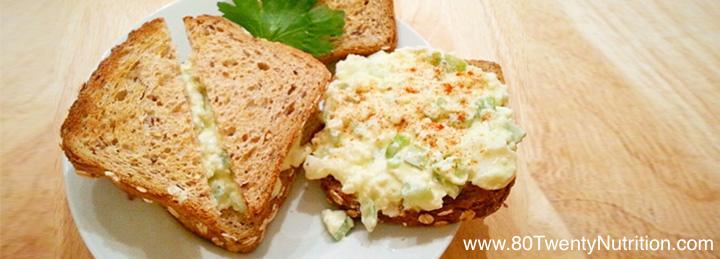 Egg Salad Sandwich 1