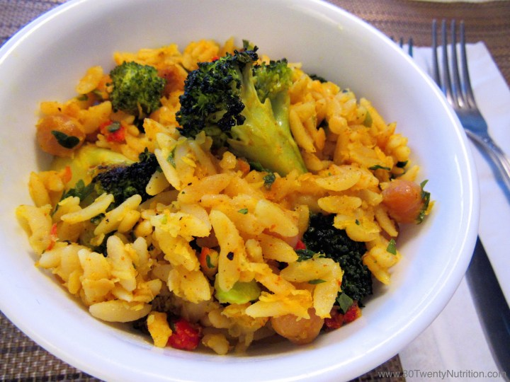 Broccoli Orzo Salad
