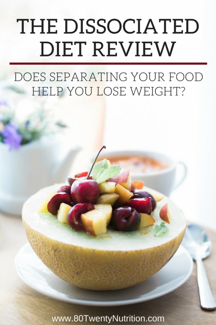 Does eating food groups separately really help you lose weight? Get the facts from registered dietitian Christy Brissette in this review of the Dissocated Diet