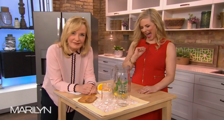 Media dietitian Christy Brissette President of 80 Twenty Nutrition - TV nutritionist on Marilyn Denis - how to organize your fridge for weight loss and healthy eating