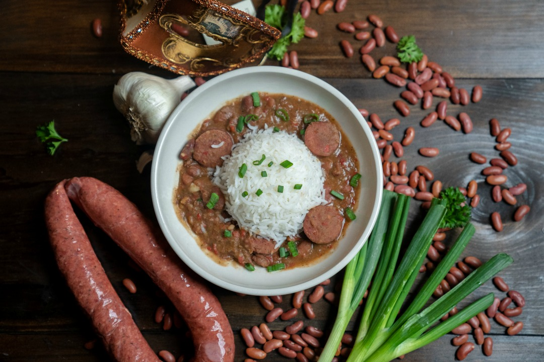 Red Beans With Sausage and Rice