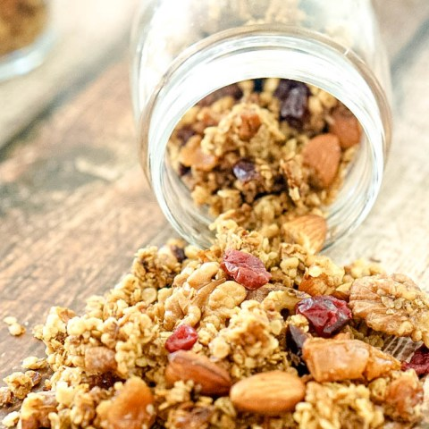 Pear and Cranberry Granola