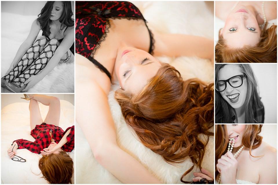 Brittney Boudoir Collage 3