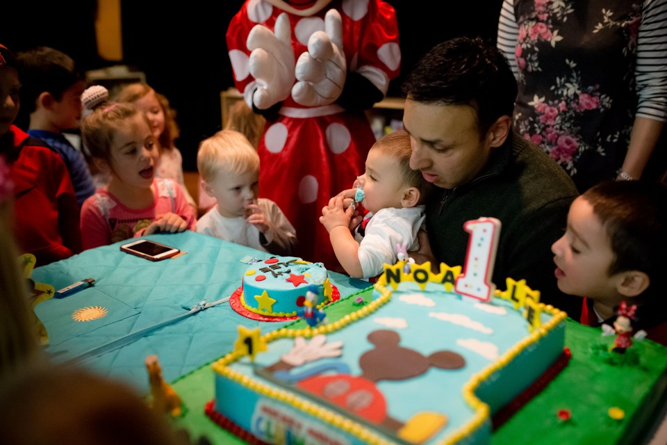 Noah Lee Turns 1-36