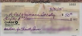 Donation to A-Pal Humane Society - Commentathon on Blogoversary