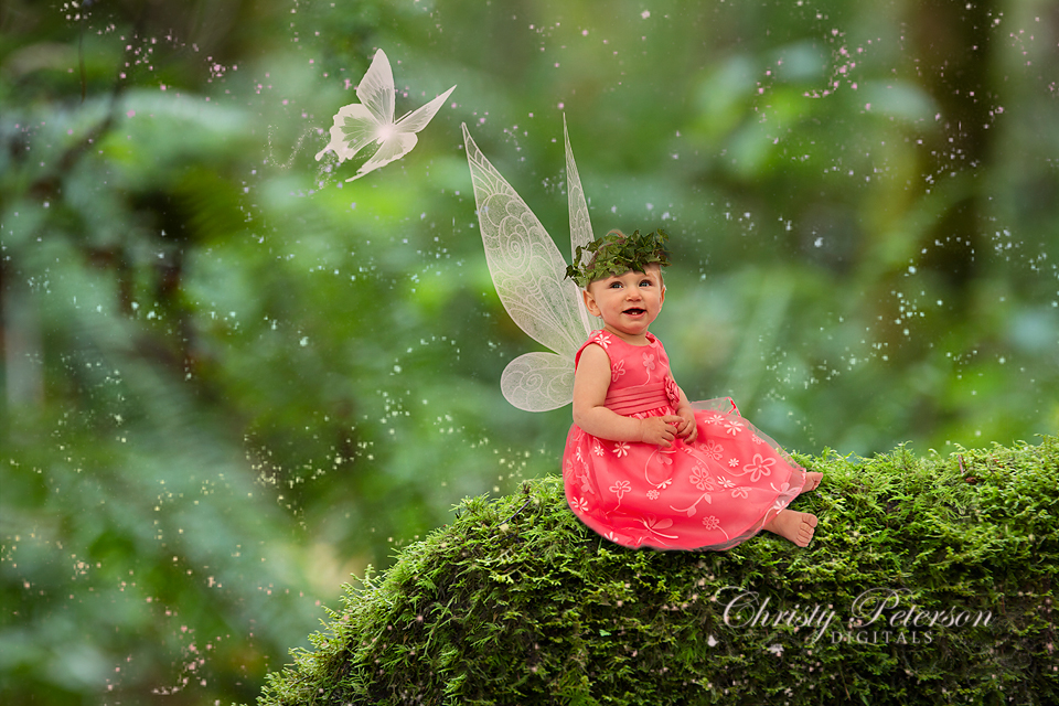 Beautiful Cute Baby Girl Hd Wallpaper Photoshop Fairy Wing Brushes And Overlays More Examples