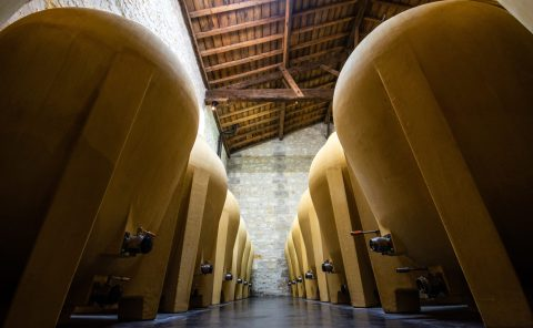 Amphoras, winemaking, biodynamic wine,France