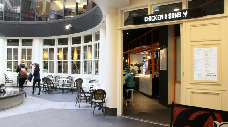 Chicken and Sons, Shop 12/121 Liverpool Street, World Square, Sydney, CBD