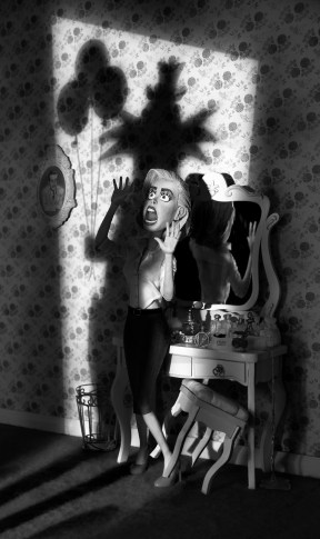Coulrophobia Fear of Clowns (Black & White)