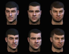 Alpha Protocol : Thug Faces