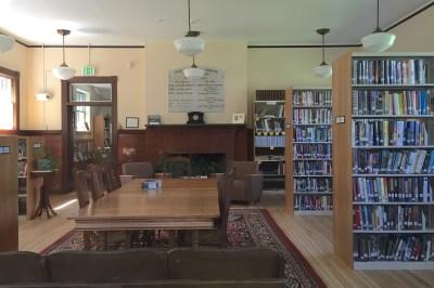 Buckland Public Library Interior