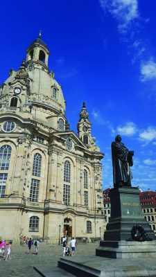 Frauenkirche - Martin Luther's Travel Guide (WildmooBooks.com)