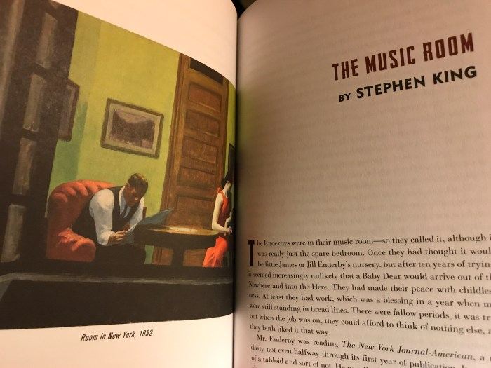 Stephen King's The Music Room (WildmooBooks.com)