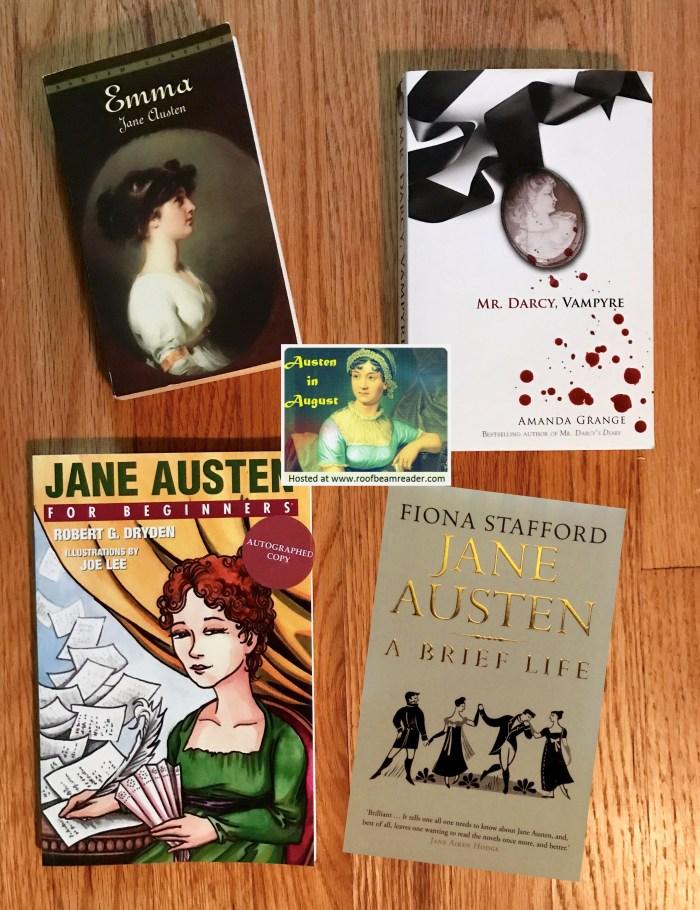 WildmooBooks TBR for #AustenInAugustRBR