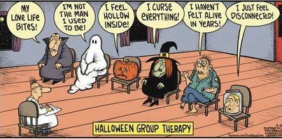 Halloween Group Therapy (WildmooBooks.com)