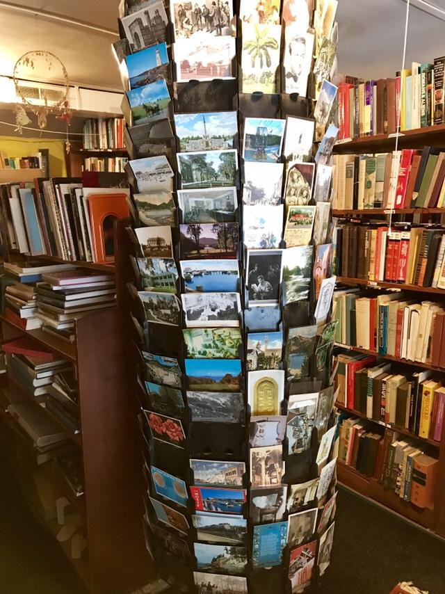 Vintage postcards (WildmooBooks.com)