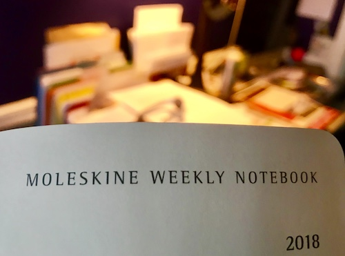 Moleskine Weekly Notebook (WildmooBooks.com)