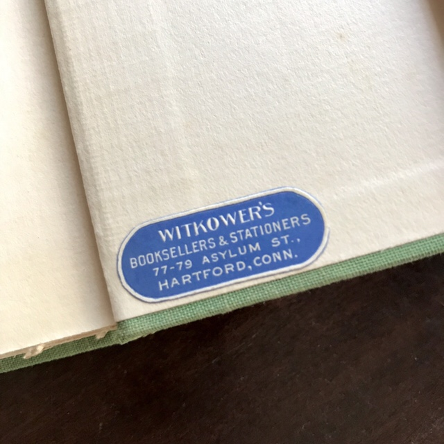 Obscure Destinies, First Edition Photos, Witkower's Booksellers Sticker, WildmooBooks.com