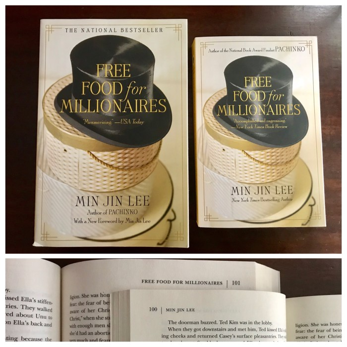 Free Food for Millionaires by Min Jin Lee new paperback edition - WildmooBooks
