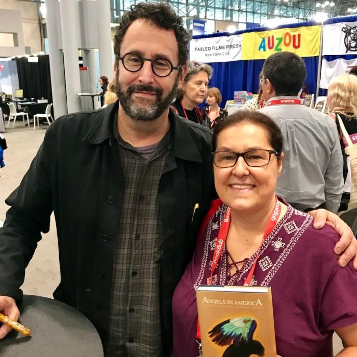 Tony Kushner and Chris Wolak at BookExpo - WildmooBooks