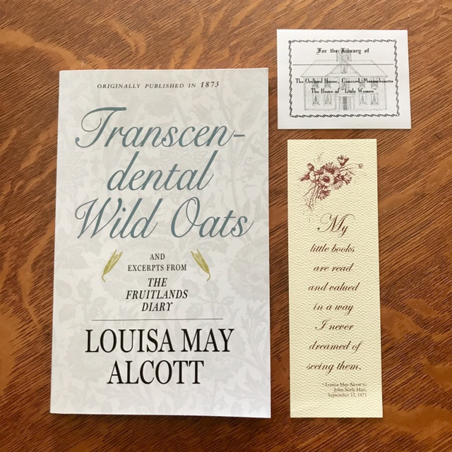 Transcendental Wild Oats by Louisa May Alcott (WildmooBooks.com)