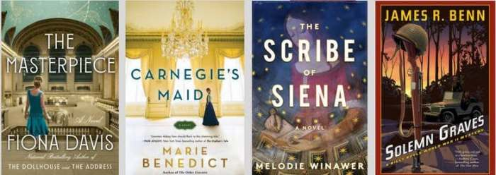 Historical Fiction Panel Titles (WildmooBooks.com)