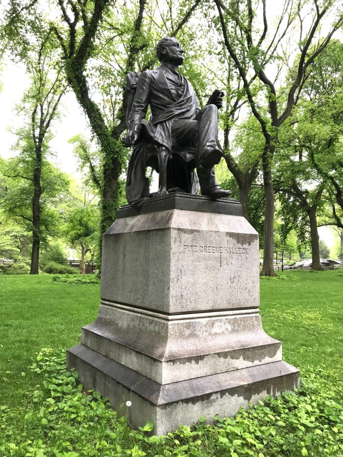 Fitz-Greene Halleck Central Park 3 (WildmooBooks.com)