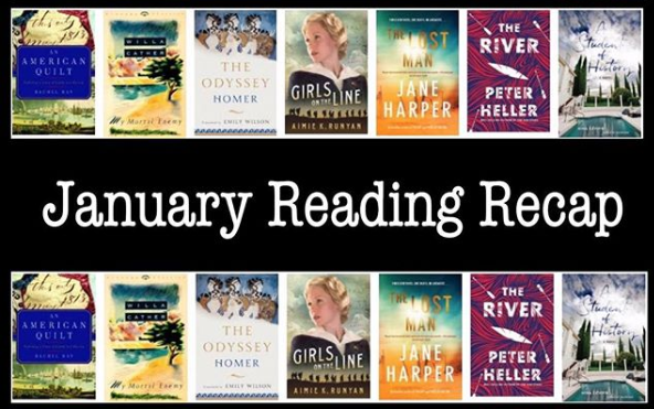 January 2019 Reading Recap WildmooBooks.com