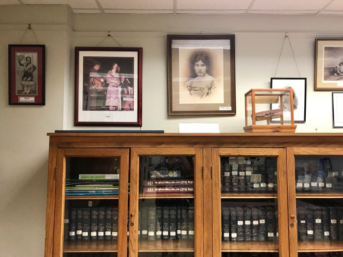 Patsy Cline and Willa Cather at The Handley Library in Winchester, VA