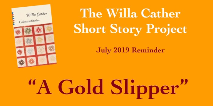 A Gold Slipper by Willa Cather