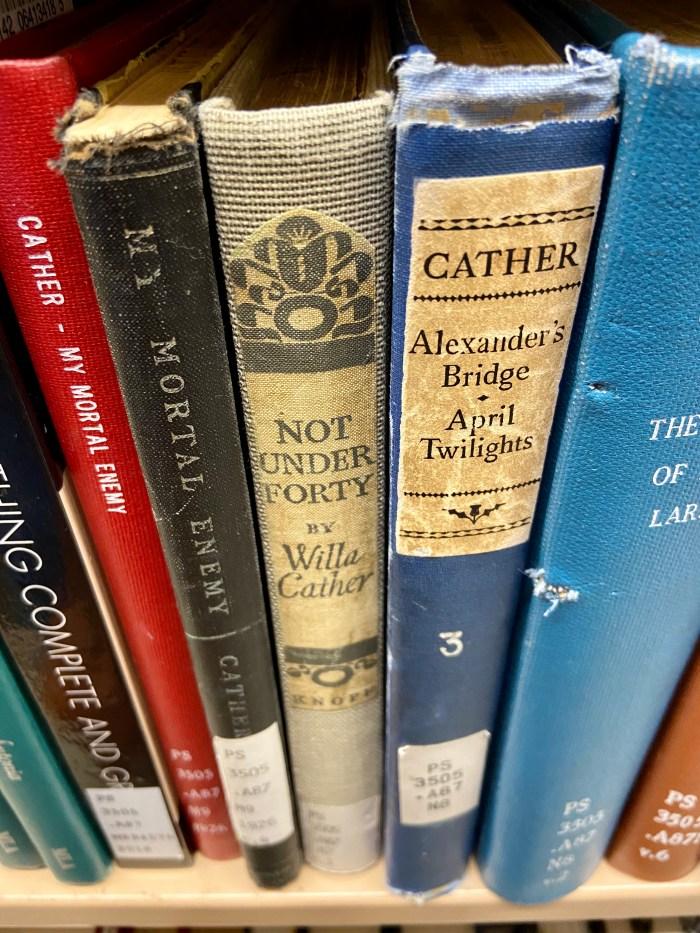 Cather close up - NYU Elmer Holmes Bobst Library  (chriswolak.com)