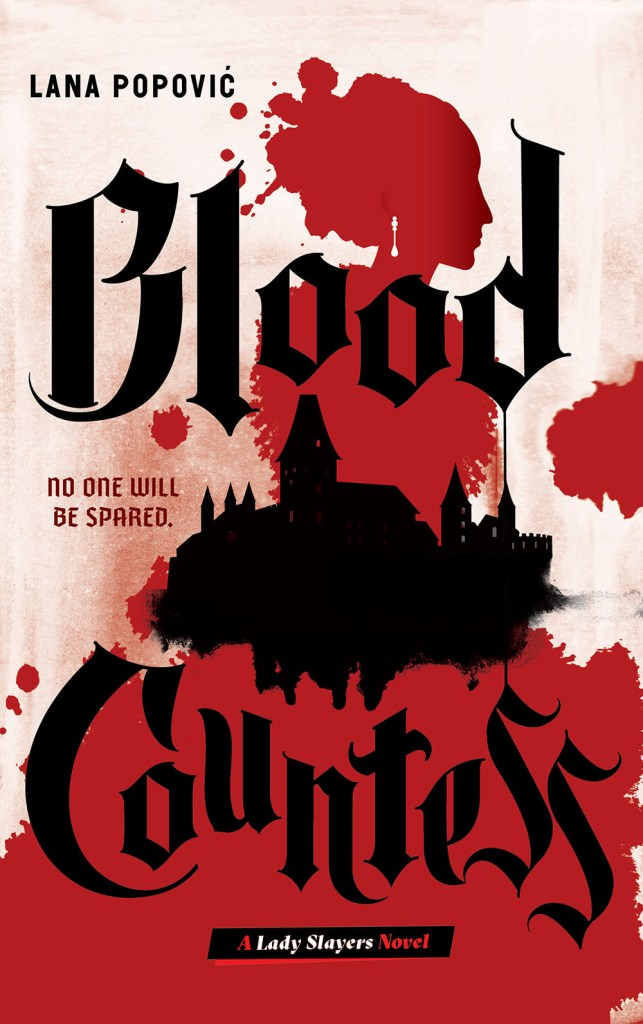 Blood Countess by Lana Papović Cover