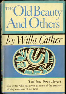 First edition of The Old Beauty and Others by Willa Cather