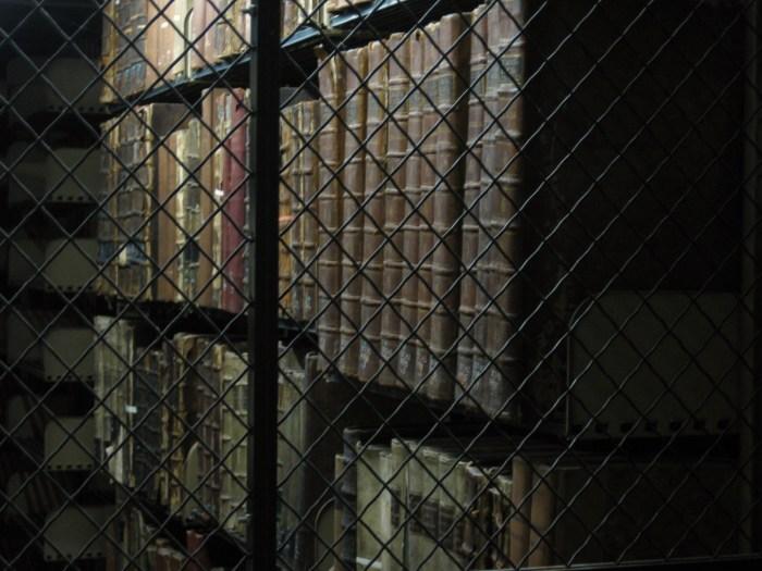 Caged Books Cudahy Library Loyola University Chicago