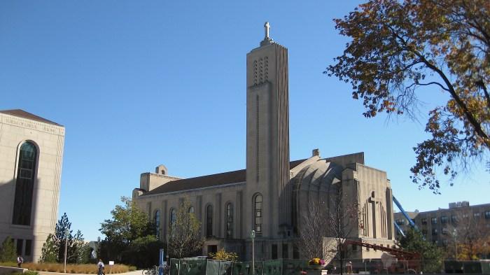 Madonna della Strada Chapel Loyola University Chicago