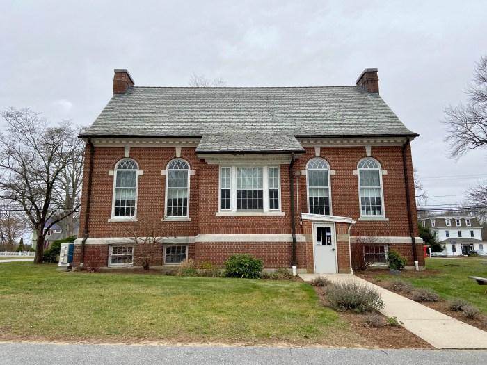 Rear facade - East Haddam Free Public Library