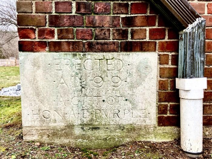 1919 Cornerstone - East Haddam Free Public Library