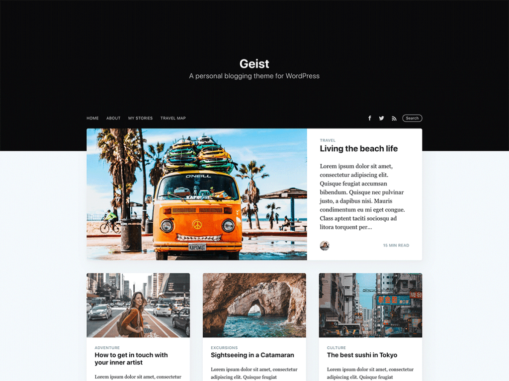 Casper 2.0 theme for WordPress