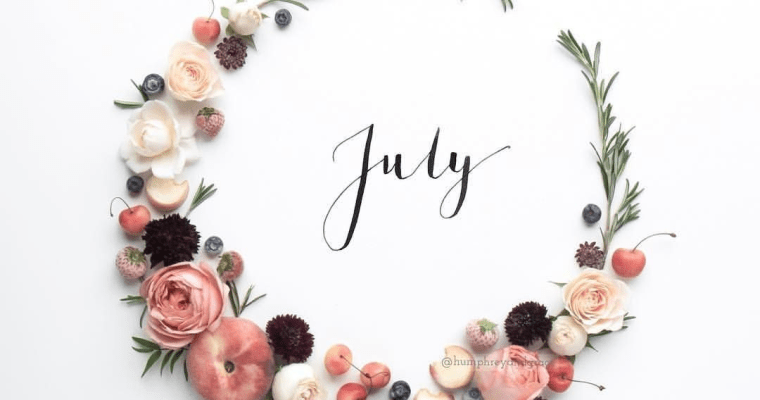 Thematic Month: July 2019