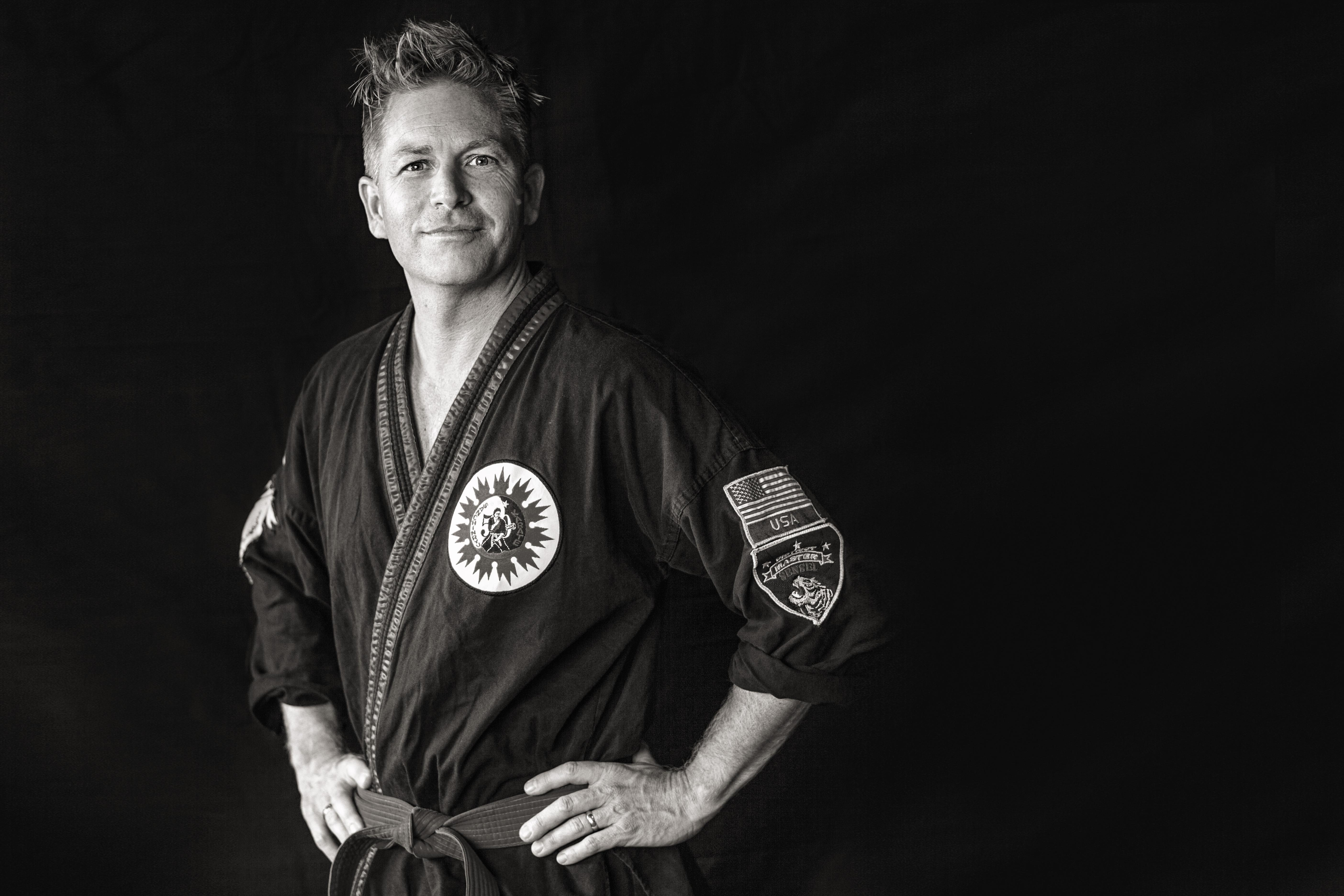 Sanchin-Ryu Karate Master