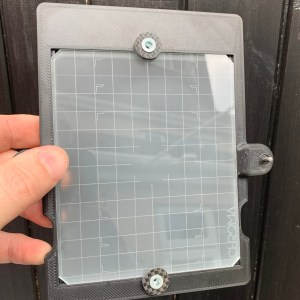 Engraved ground glass