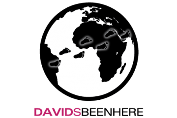 a logo davidsbeenhere