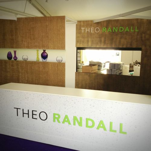 Bespoke stand design and build for Theo Randall. Chromatics UK. Sussex