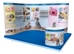 pace Only Stands, Bespoke Exhibition Displays, Chromatics UK , Sussex