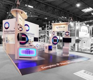 pace Only Stands. Bespoke Exhibition Displays. Chromatics UK, Sussex