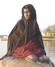 Havfrue in a burqa