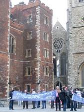 SIOE Lambeth demonstration Sept. 11, 2008