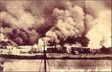 The burning of Smyrna