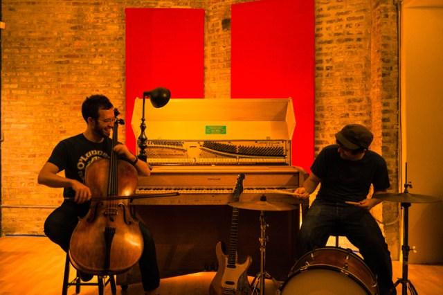 Brendan Finucane & Farsheed Hamidi-Toosi at Soapbox Music