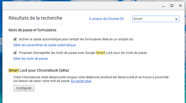 Smart Lock : déverrouiller son Chromebook avec son smartphone